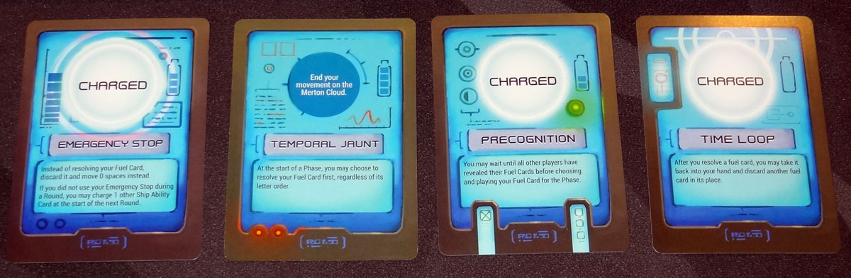 Gravwell blue ability cards
