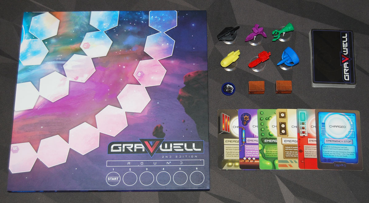 Gravwell 2nd Edition components