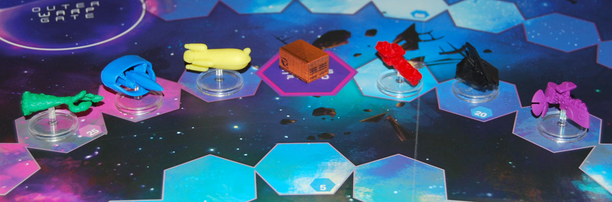 Gravwell 2nd Edition ships and space junk token
