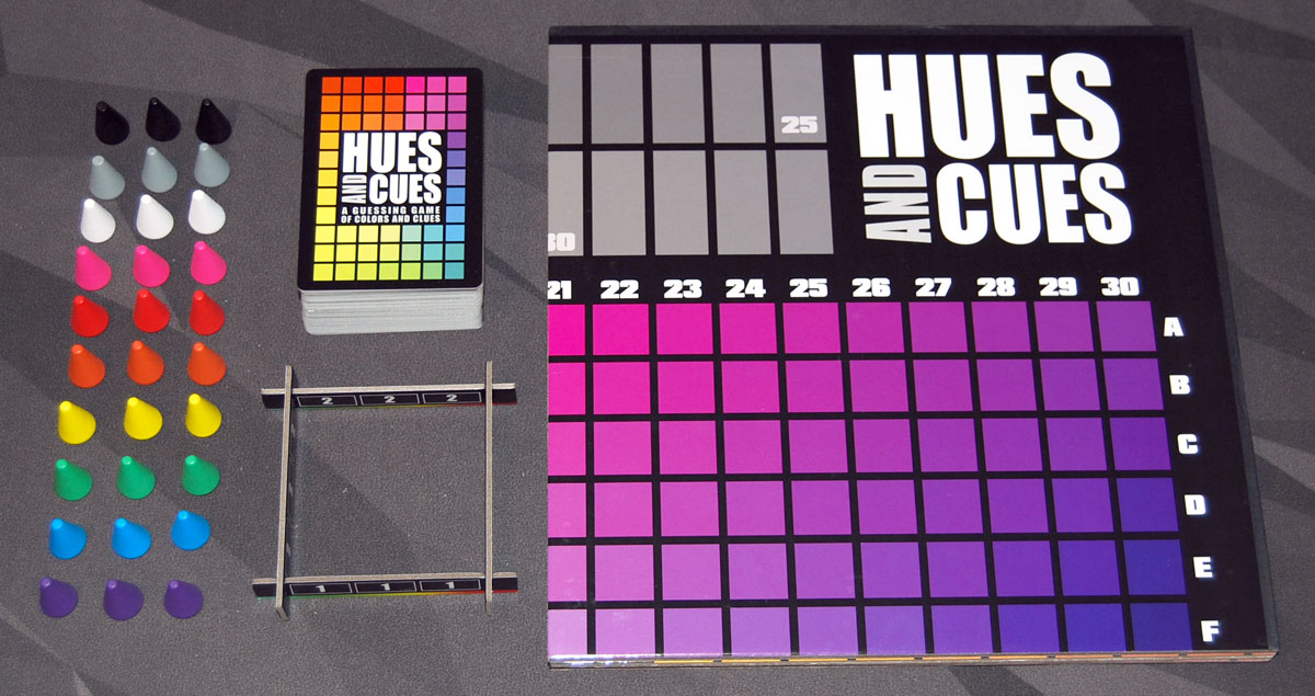 Hues and Cues components