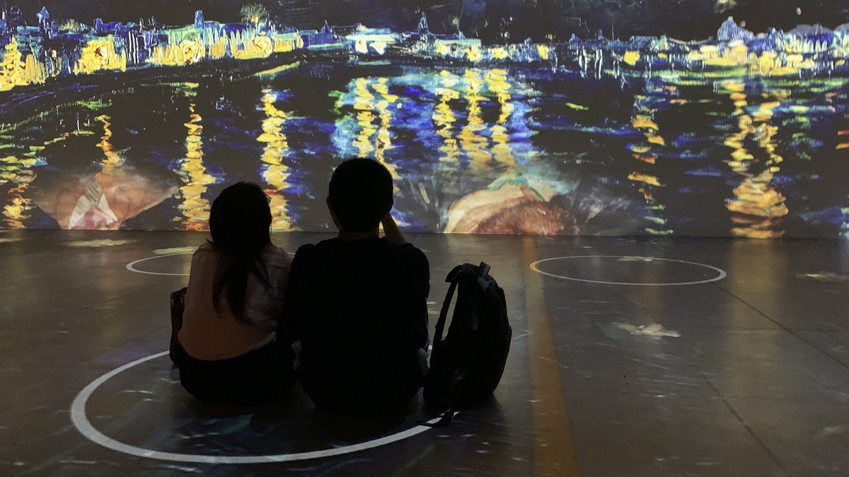 Immersive Van Gogh review