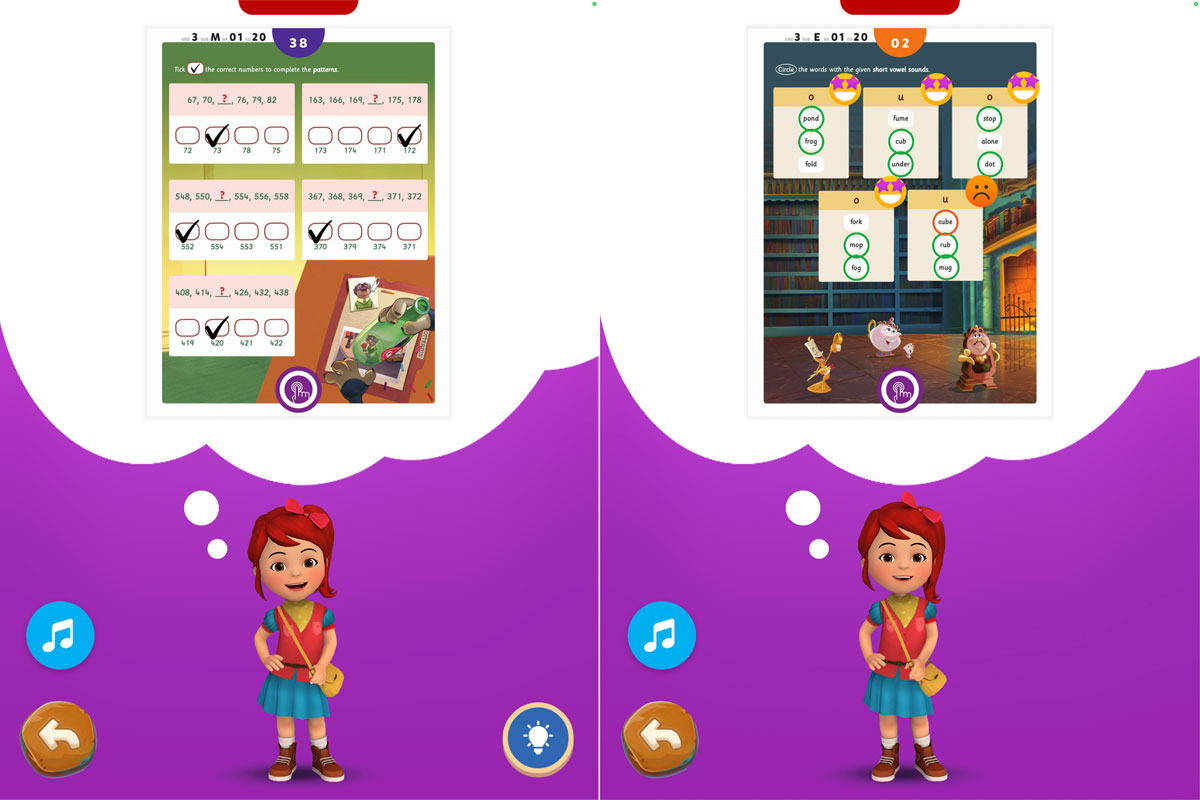Byju's Learning App screenshots