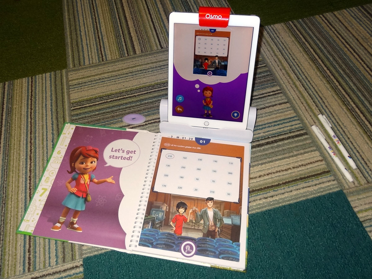 BYJU's Learning - iPad and workbook
