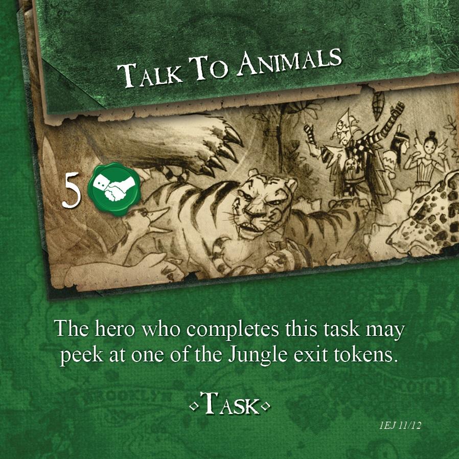 encounter task card