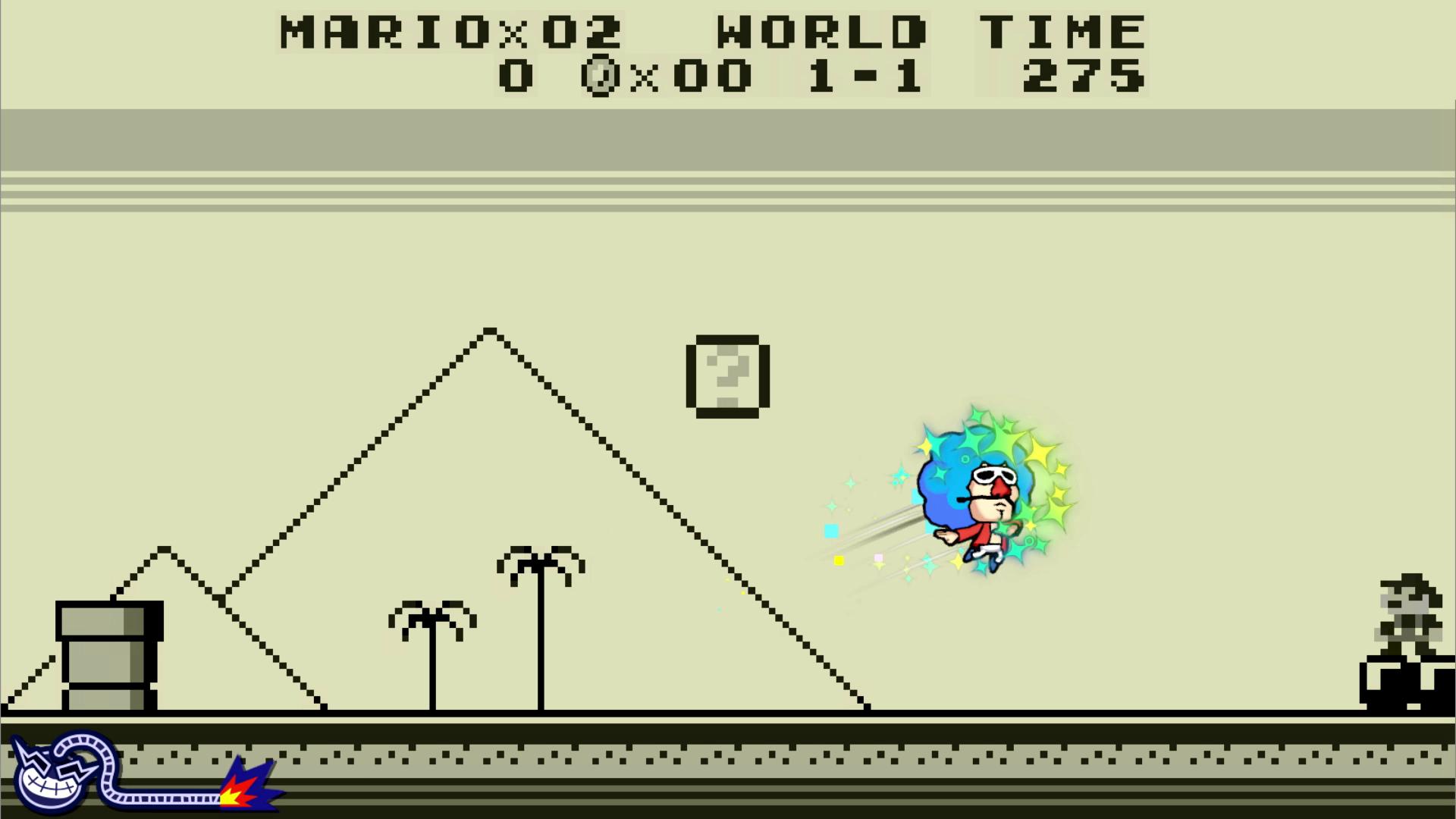 WarioWare GIT! screenshot Mario
