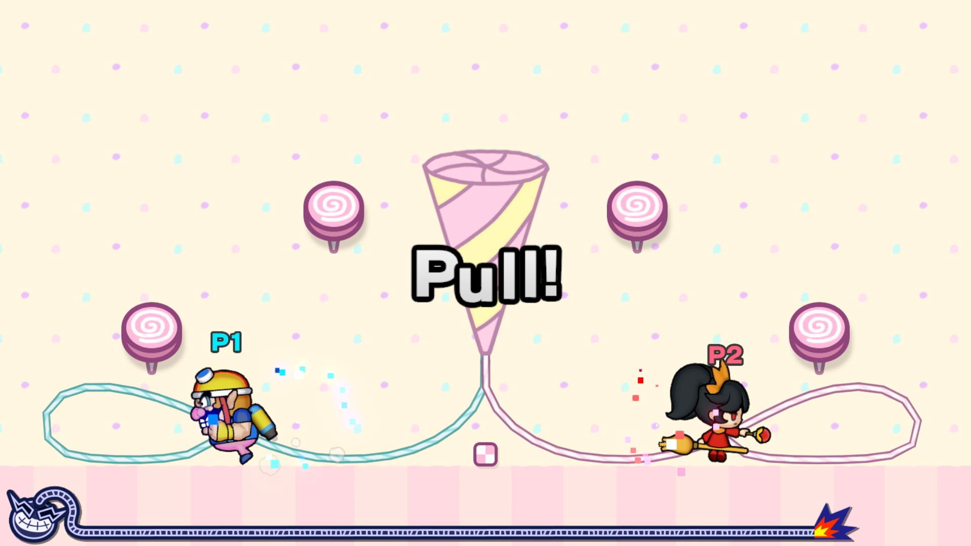 WarioWare GIT! screenshot - Pull!