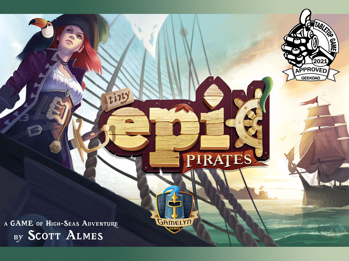 Tiny Epic Pirates cover