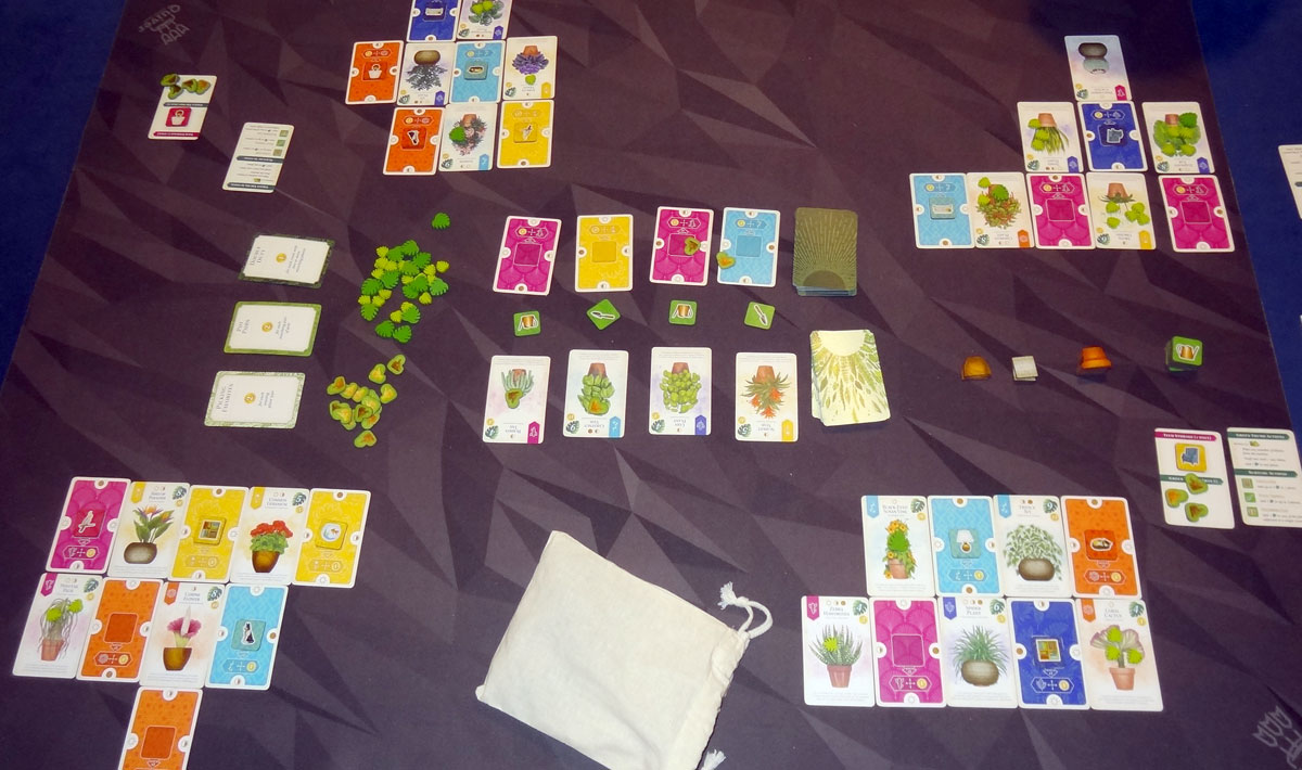 Verdant 4-player game in progress