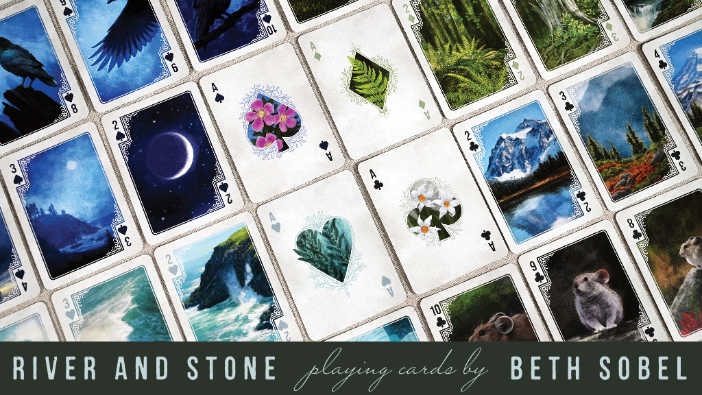 River and Stone Playing Cards