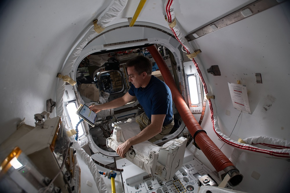 cassidy on ISS