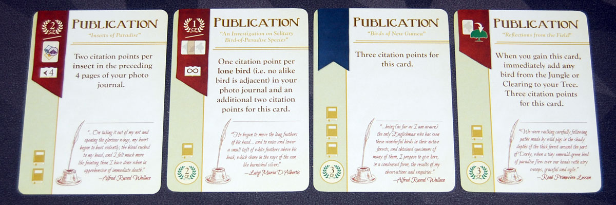 Birdwatcher publication cards