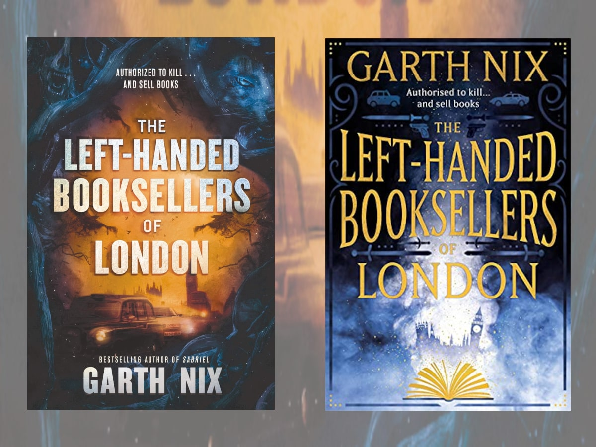Left handed booksellers
