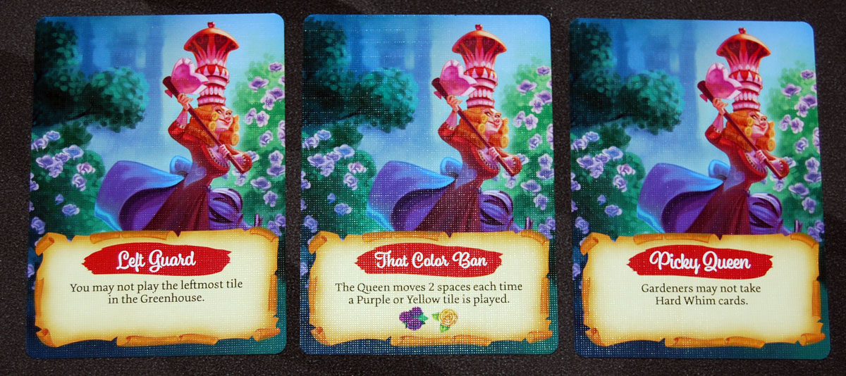Paint the Roses Queen cards