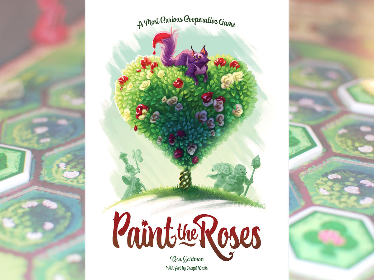 Paint the Roses box cover