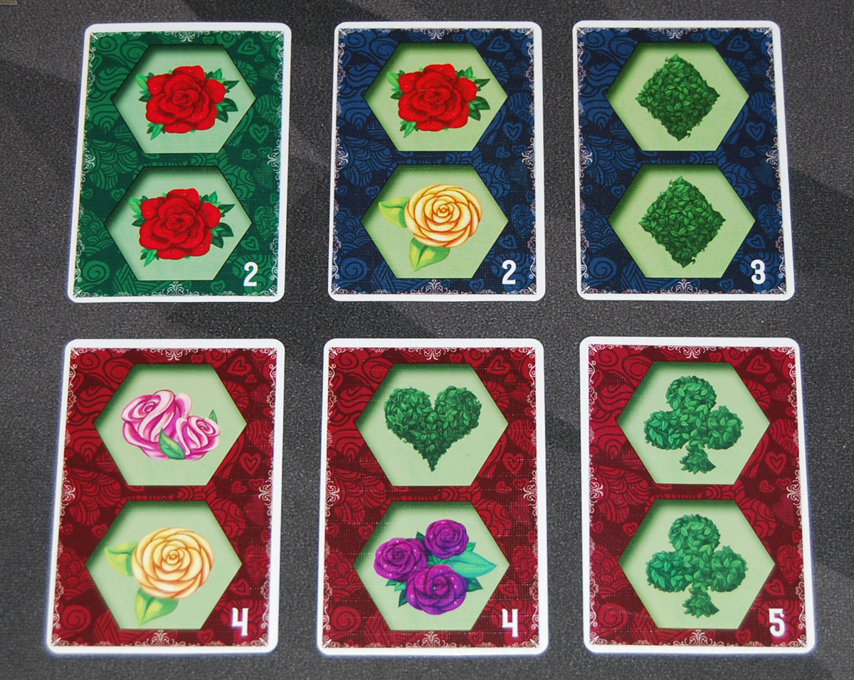 Paint the Roses whim cards