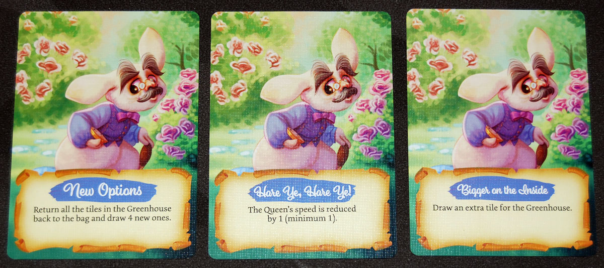 Paint the Roses White Rabbit cards