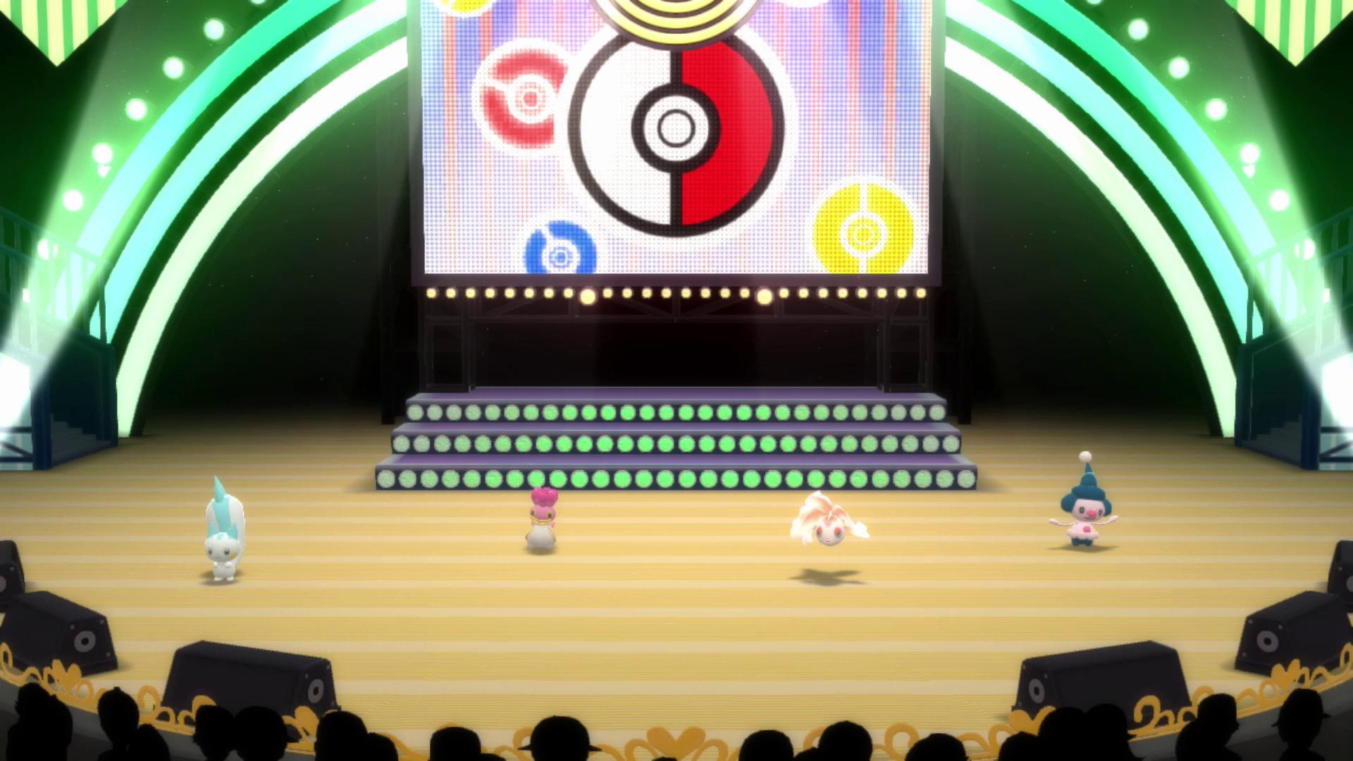 Pokémon Brilliant Diamond and Pokémon Shining Pearl super contest