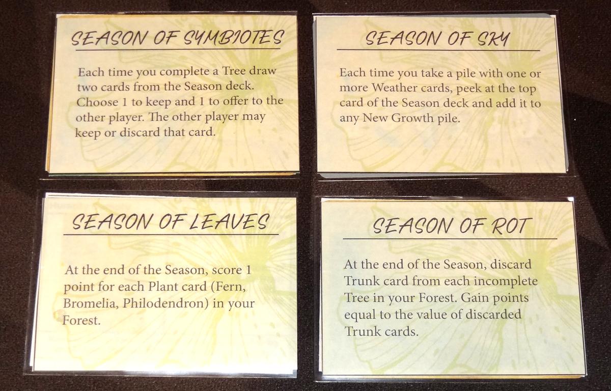 Canopy Shifting Seasons cards