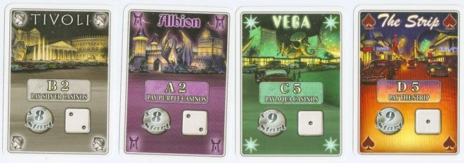 Lords of Vegas card examples